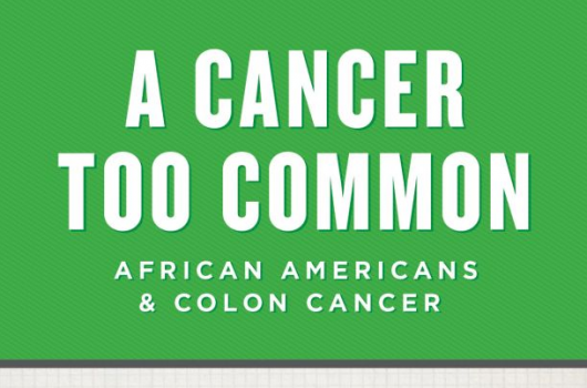 African American Colon Cancer Infographic