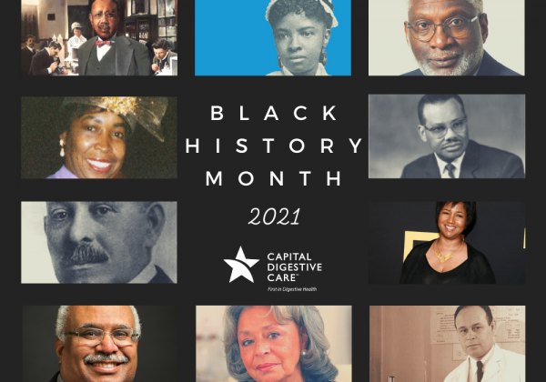 Black History Month 2021 image collage with historic photos