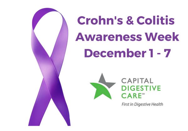Crohn's & Colitis Ribbon