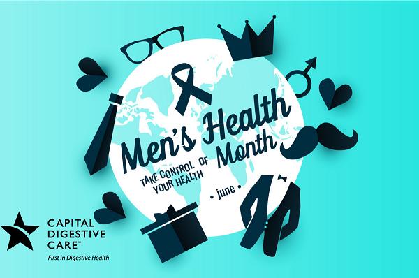 Men's Health Ribbon and icon