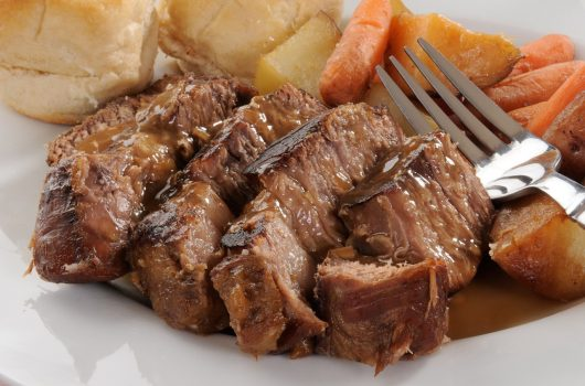pot roast with thyme and rosemary