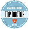 Washingtonian Top Doctor 2014 logo