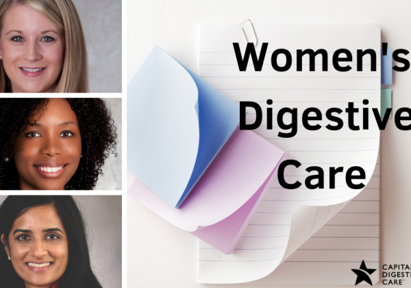 Women's digestive care sticky notes and notepad