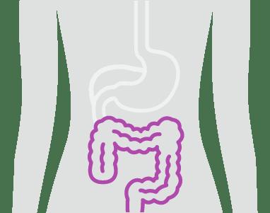 Colon Cancer area illustration