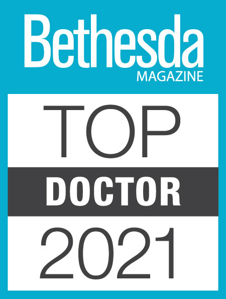 Bethesda Magazine 2021 Top Doctors Badge