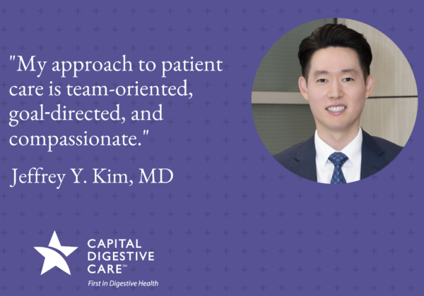Dr. Kim photo and quote